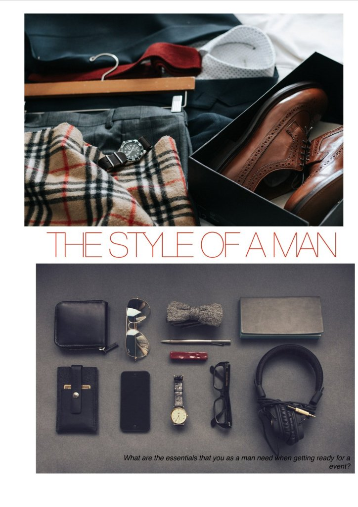 The STYLE OF A MAN